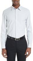 Armani Collezioni Men's Micro Print Sport Shirt