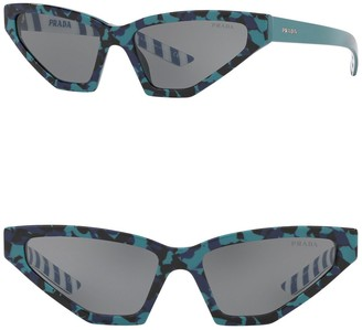 Prada Butterfly 57mm Sunglasses
