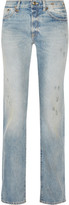 R 13 Classic distressed mid-rise boyfriend jeans