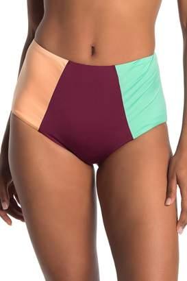 Mossimo Block Party High Waist Bikini Bottoms