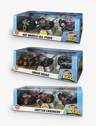 Hot Wheels Monster Trucks Critter Crashers assorted toy set