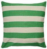 Kate Spade Yorkville Striped Reversible Square Pillow
