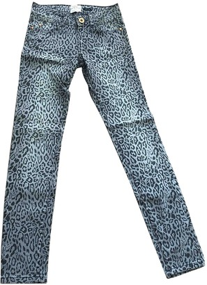 River Island Grey Cotton Jeans for Women