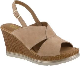 Bella Vita Italy Leather Wedge Sandals - Pep-Italy