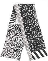 Pierre Louis Mascia Pierre-Louis Mascia zebra padded scarf