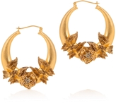 Alexander McQueen Butterfly Hoop Earrings