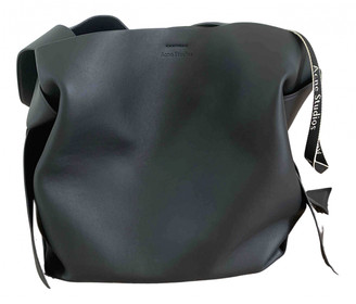 Acne Studios Musubi Black Leather Handbags