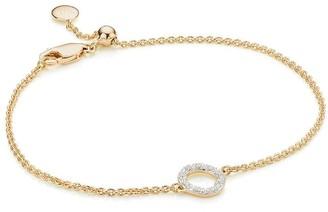 Monica Vinader Riva Mini Circle Diamond bracelet