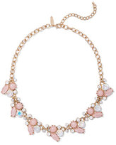 New York & Co. Goldtone Beaded Cluster Necklace