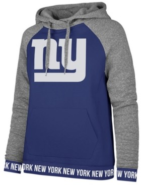 '47 Women's New York Giants Revolve Hooded Sweatshirt