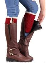 FEITONG 2016 New Women Lace Stretch Boot Leg Cuffs Boot Socks Leg Warmer