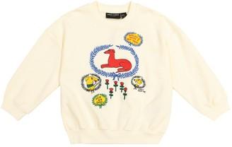 Mini Rodini Sighthound cotton sweatshirt