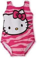 Hello Kitty Baby-Girls Infant 1 Piece Zebra Print Set