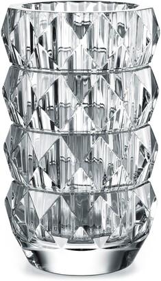 Baccarat Louxor Round Lead Crystal Vase