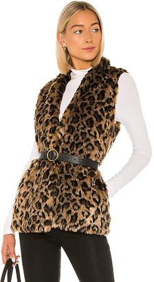 Velvet by Graham & Spencer Stephie Faux Fur Vest