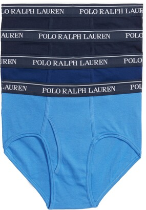 Polo Ralph Lauren 4-Pack Low Rise Cotton Briefs