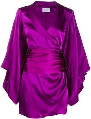 Redemption Bow-Detail Silk Dress