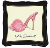 Fine Art Tapestries Home Decorative Tres Bombshell Pillow Cotton