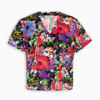 ART DEALER Floral print Olivia shirt