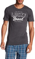 Lucky Brand Short Sleeve Front Graphic Tee