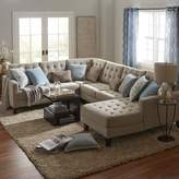 Pier 1 Imports Build Your Own Nyle Stone Gray Sectional Collection