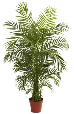 Nearly Natural 4.5' Areca Palm Uv-Resistant Indoor/Outdoor Tree