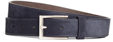 Brooks Brothers Suede Embossed Edge Belt