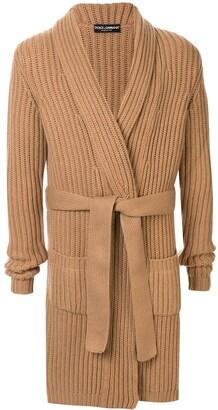 Dolce & Gabbana cashmere long-length cardigan