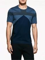 Calvin Klein Platinum Interlocked Colorblock T-Shirt
