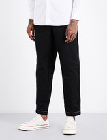 Comme des Garcons Relaxed-fit tapered cotton trousers