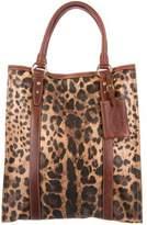 Dolce & Gabbana Leopard Animalier Tote