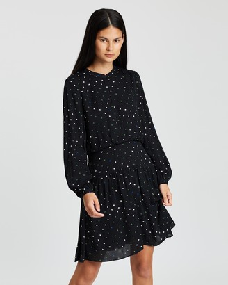 Whistles Maya Star Print Dress