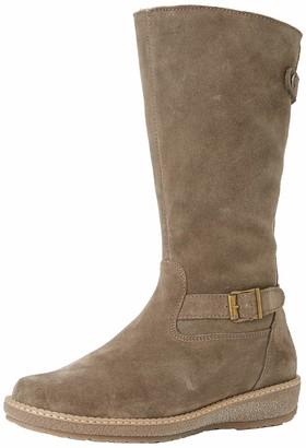 Waldläufer Women 533904 Ama130 103 High Boots Grey Size: 7 UK