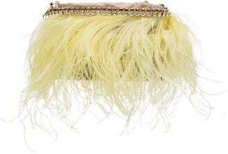 Rosantica Josephine feather-detail shoulder bag
