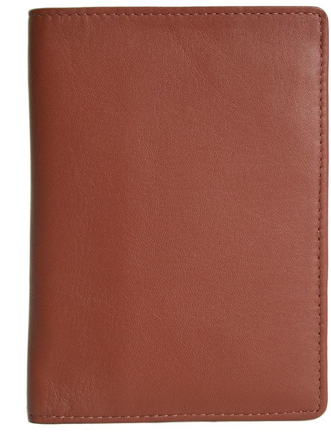 Royce Leather Passport Wallet