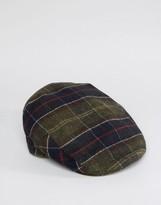 Barbour Wool Tartan Flat Cap