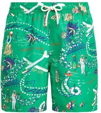 Polo Ralph Lauren Hawaiian Traveler Swim Trunks