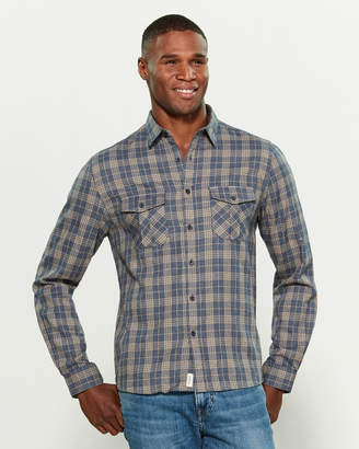 Civil Society Flannel Button Down Shirt