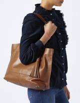 Monsoon Efie East West Leather Shopper Bag