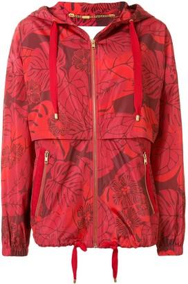Escada Sport Leaf Print Jacket
