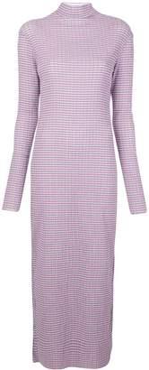 Nomia striped maxi dress