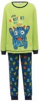 M&Co Monster print pyjamas