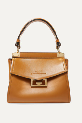 Givenchy Mystic Small Leather Tote - Camel