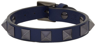Valentino Navy Garavani Rockstud Bracelet