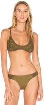 Somedays Lovin Sun Sway Crochet Bikini Top