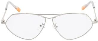 Le Specs Psyche Optical Aviator Metal Glasses