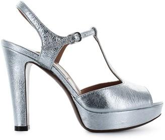L'Autre Chose Lautre Chose Silver Platform Sandal