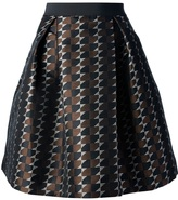 P.A.R.O.S.H. full printed skirt