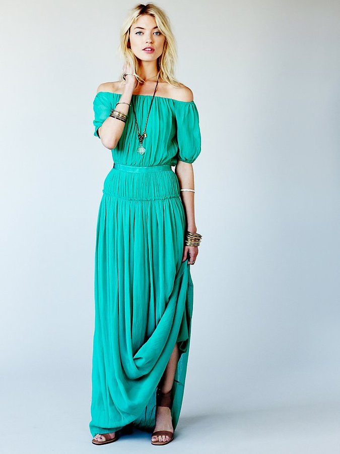 Candela Cora Off The Shoulder Gown