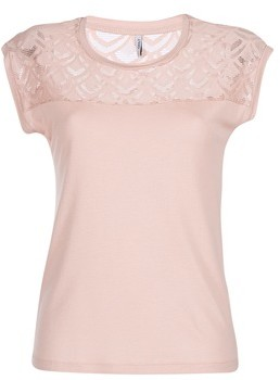 Only NICOLE women's T shirt in Pink